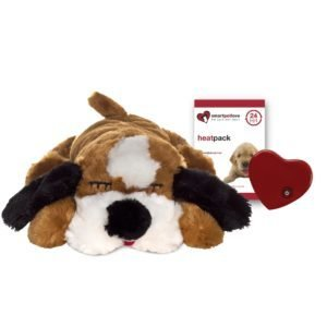 Snuggle Puppy- Brown and White