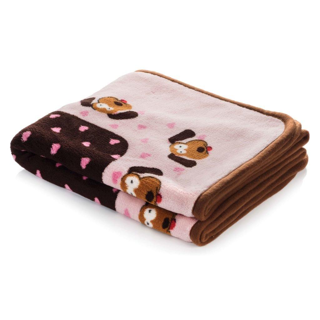 Snuggle Blanket Pink Heart