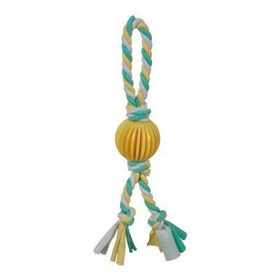 Puppy's 1st – Yellow Ball with Rope