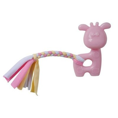 Puppy's 1st – Pink Giraffe with Rope