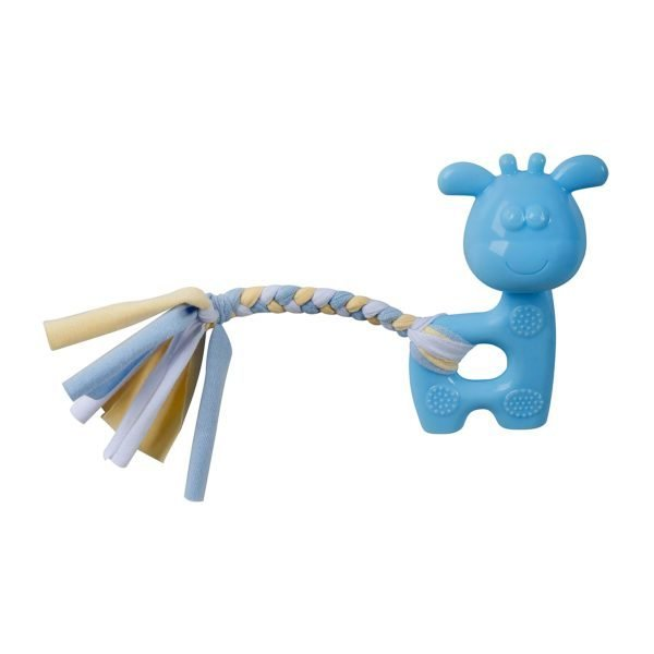 Puppy's 1st – Blue Giraffe with Rope