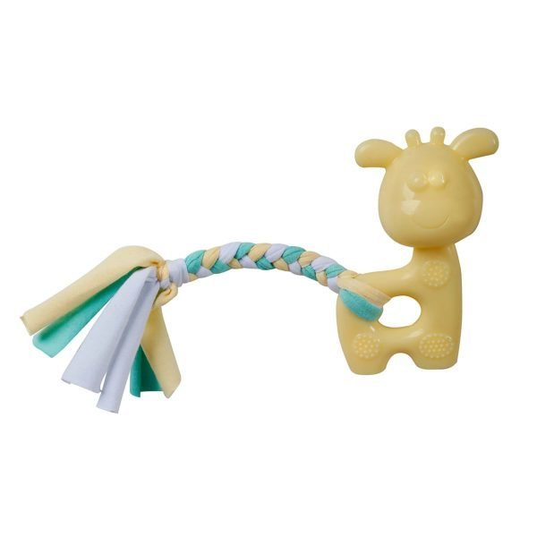 Puppy's 1st – Yellow Giraffe with Rope