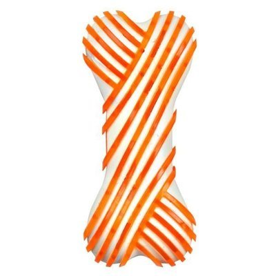 Nylon TPR Bone 6″ – Orange