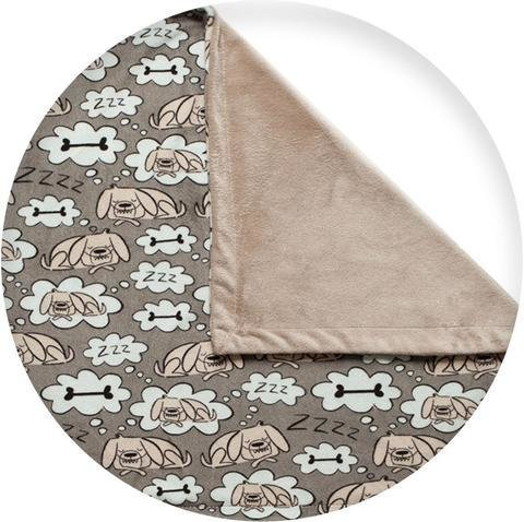 La Doggie Vita Minky Fleece Pet Blanket