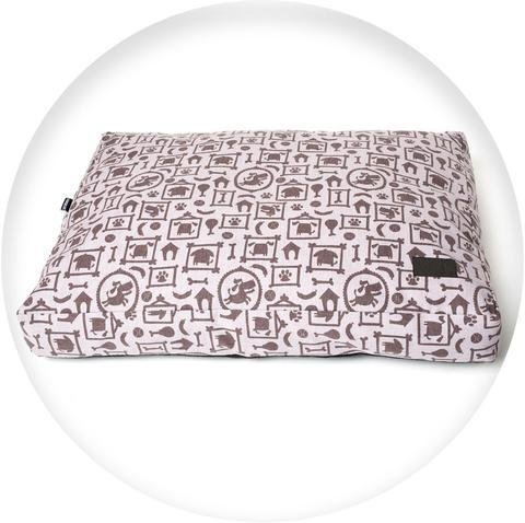 Silhouette Print Pillow Bed