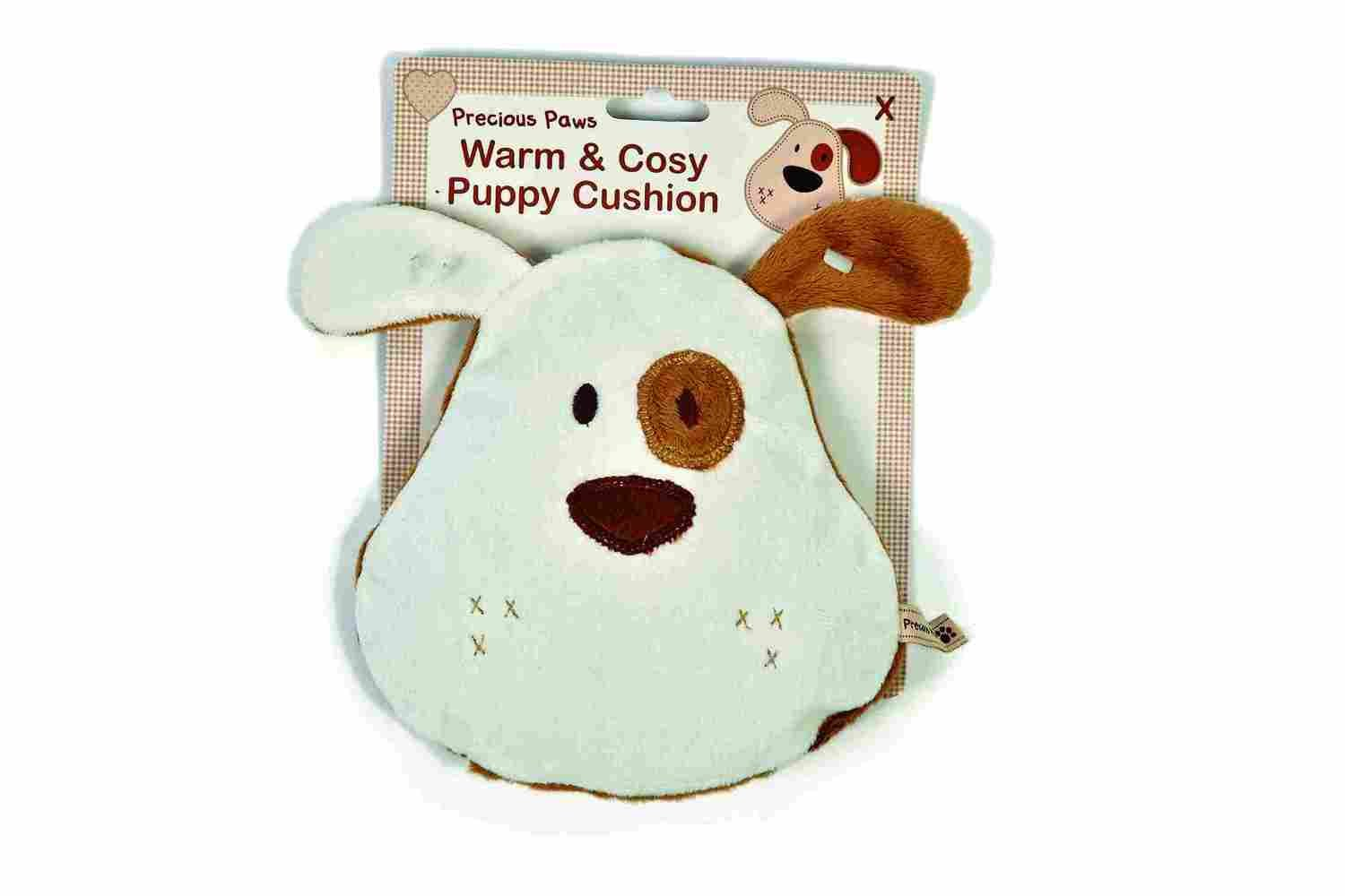 Precious Paws Warm and Cosy Puppy Cushion