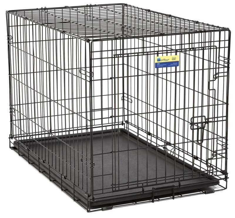 Contour Wire Crate-Double Door.  30' inch