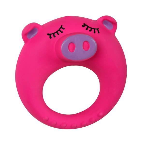 Puppy's 1st – Latex Ring Pink Pig