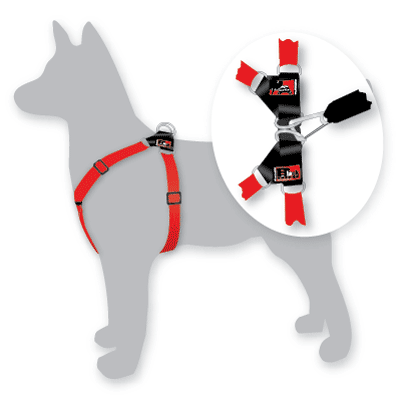 Dog Harnesses - Medium  (black)