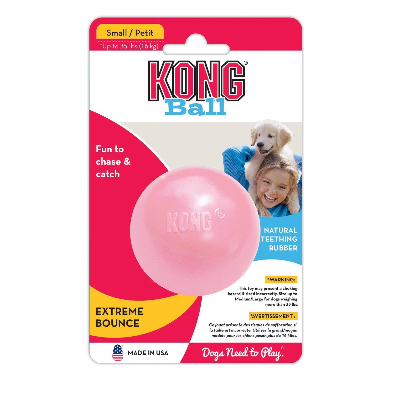 KONG Puppy Ball_Pink. Small