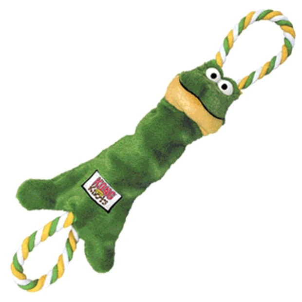 KONG Tugger Knots Frog. Medium/Large
