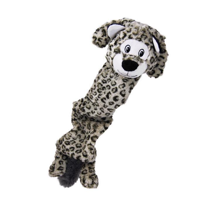 KONG Stretchezz Jumbo Snow Leopard XL
