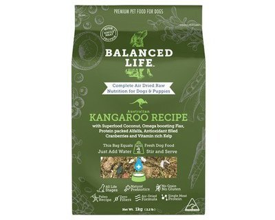 BALANCED LIFE DOG KANGAROO 1 KG