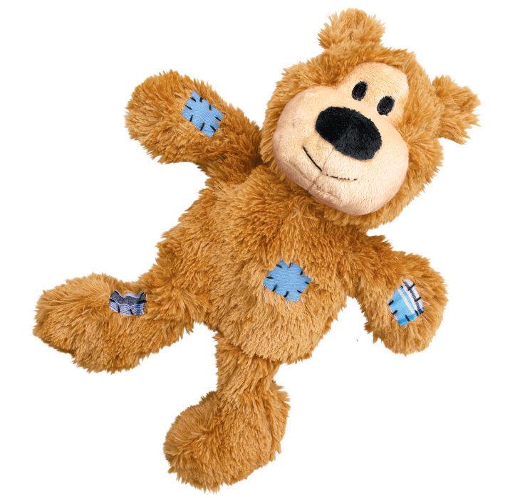 KONG Wild Knots Bear Small/Medium - Tan