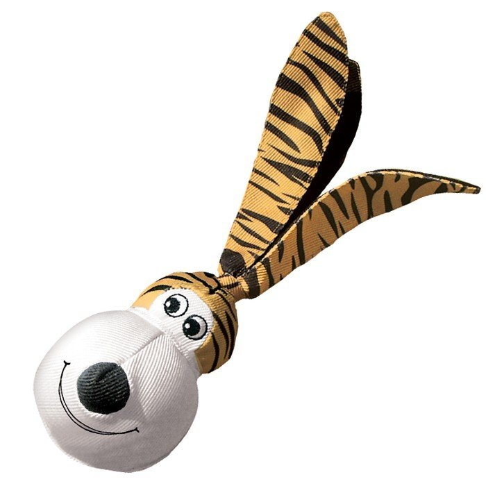 Kong Floppy Ear Wubba Tiger - Large