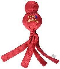 KONG Dog Toy Wubba_large: Red