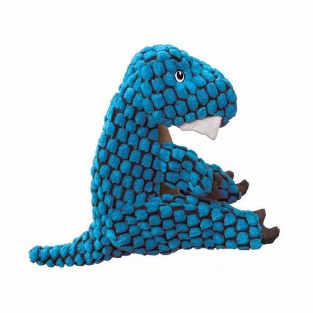 KONG Dynos T Rex Blue Small