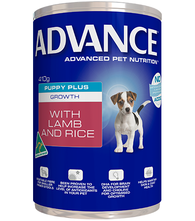 ADVANCE™ PUPPY PLUS GROWTH CAN 410 grams: Lamb and Rice