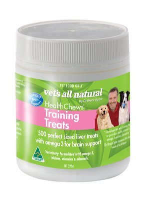 VETS ALL NATURAL Health Chew Training Liver Treats
