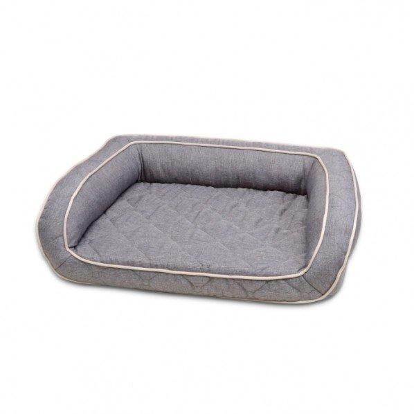Petlife Odour Resistant Orthopedic Sofa Grey