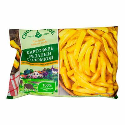 Картофель ломтики(0,400г) 10шт.