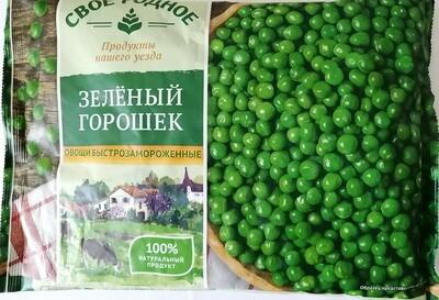 Горошек зеленый Своё родное фас.0,400 (10 шт.)
