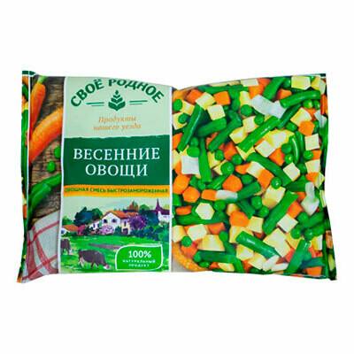 Весенние овощи Своё родное фас.0,400 10шт