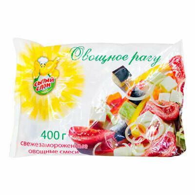 Овощное рагу Сытый Слон  фас.0,400 10шт