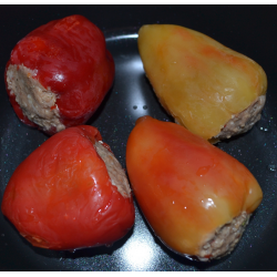 Перец фаршированный с мясом и рисом 7кг