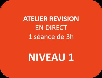 Atelier Révision Niveau 1 - N1-1 - Mardi 26 janvier à 17h