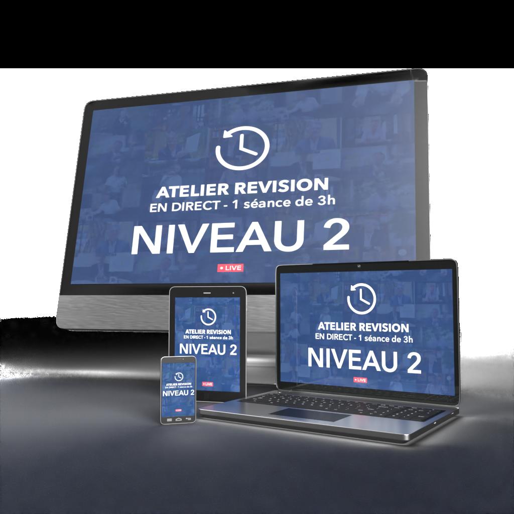 Atelier Révision Niveau 2 - N2-1 - Lundi 8 février à 17h30
