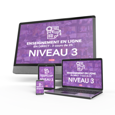 Enseignement N3 / Classe N3-5 / 15 avril - 22 avril - 29 avril (17h30 à 19h30)