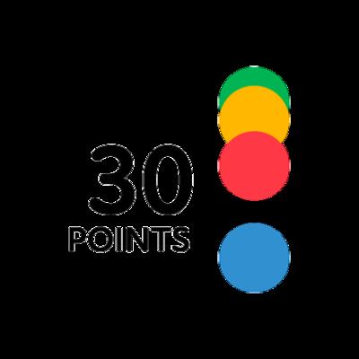 SOS Ricochet - Achat de 30 points (Prix lancement)