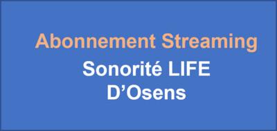 Sonorité LIFE (2 titres) - Abonnement annuel