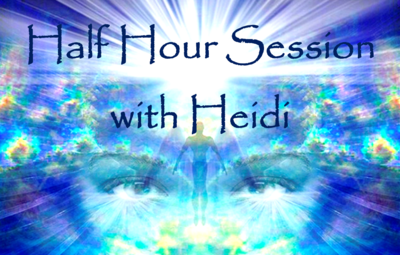 Half hour session with Heidi
