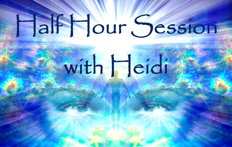 Half hour session with Heidi