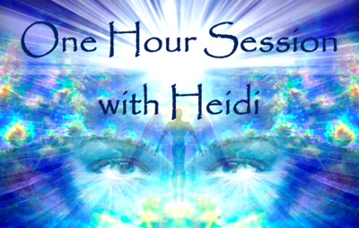 One hour session with Heidi