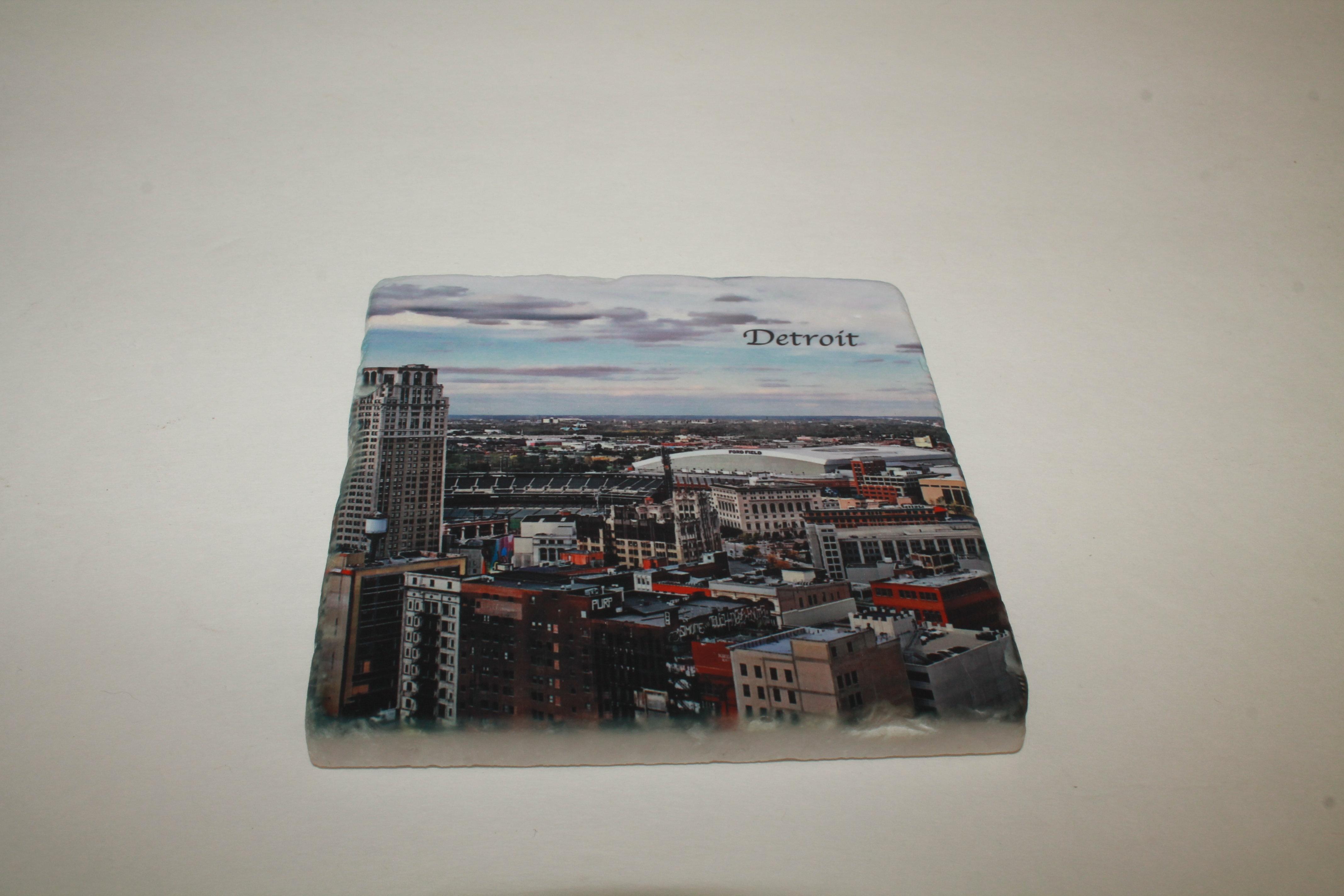 Art Wear Detroit Coaster 00029