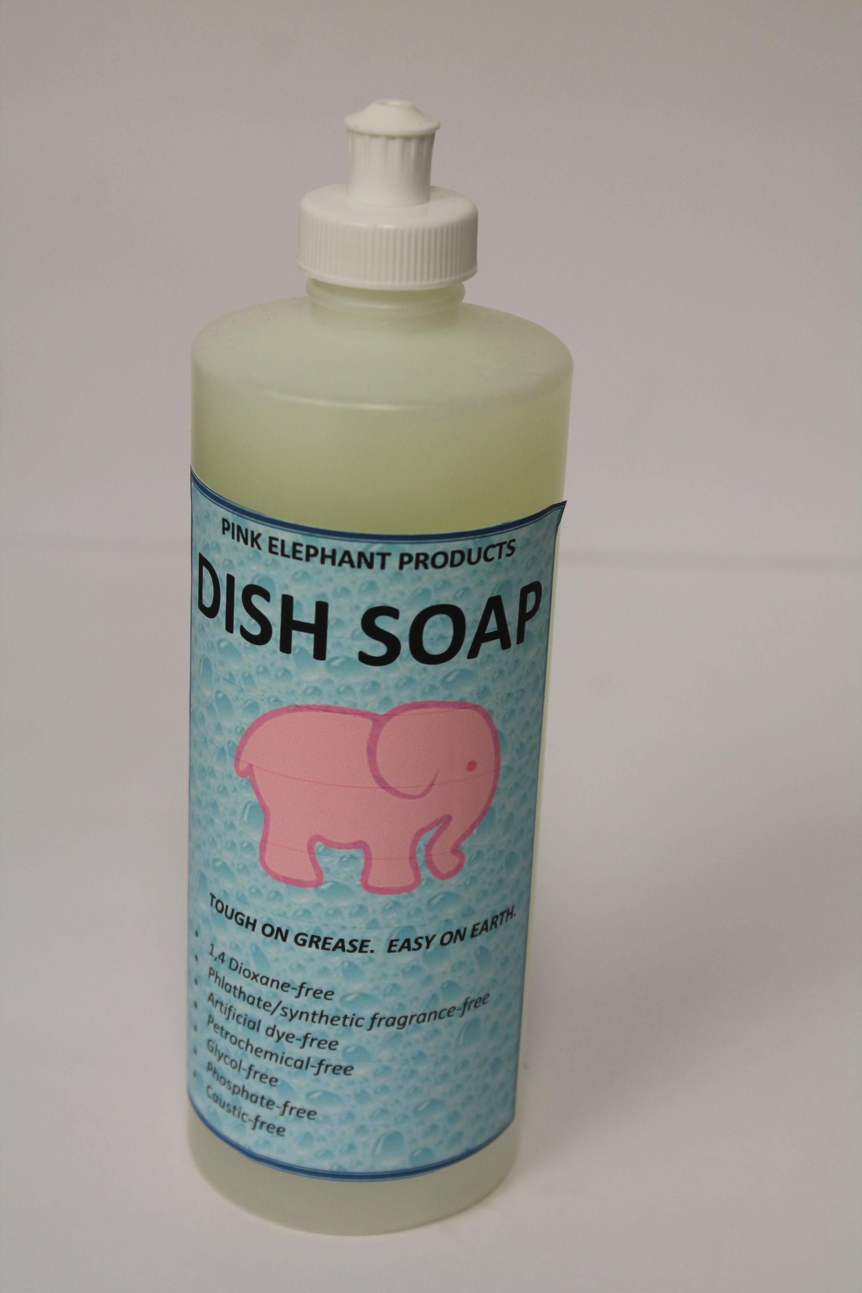 Pink Elephant Dish Soap 00191