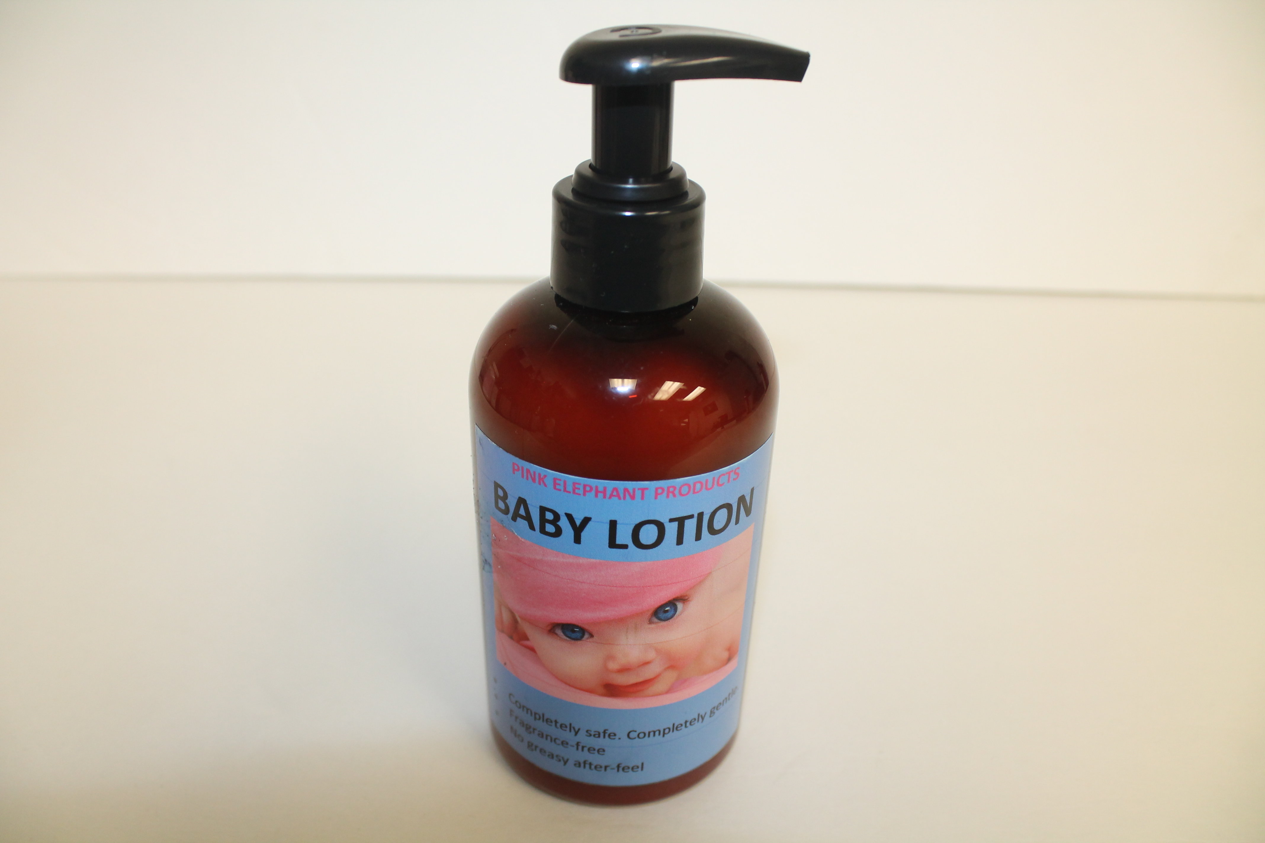 Pink Elephant Baby Oil 00200