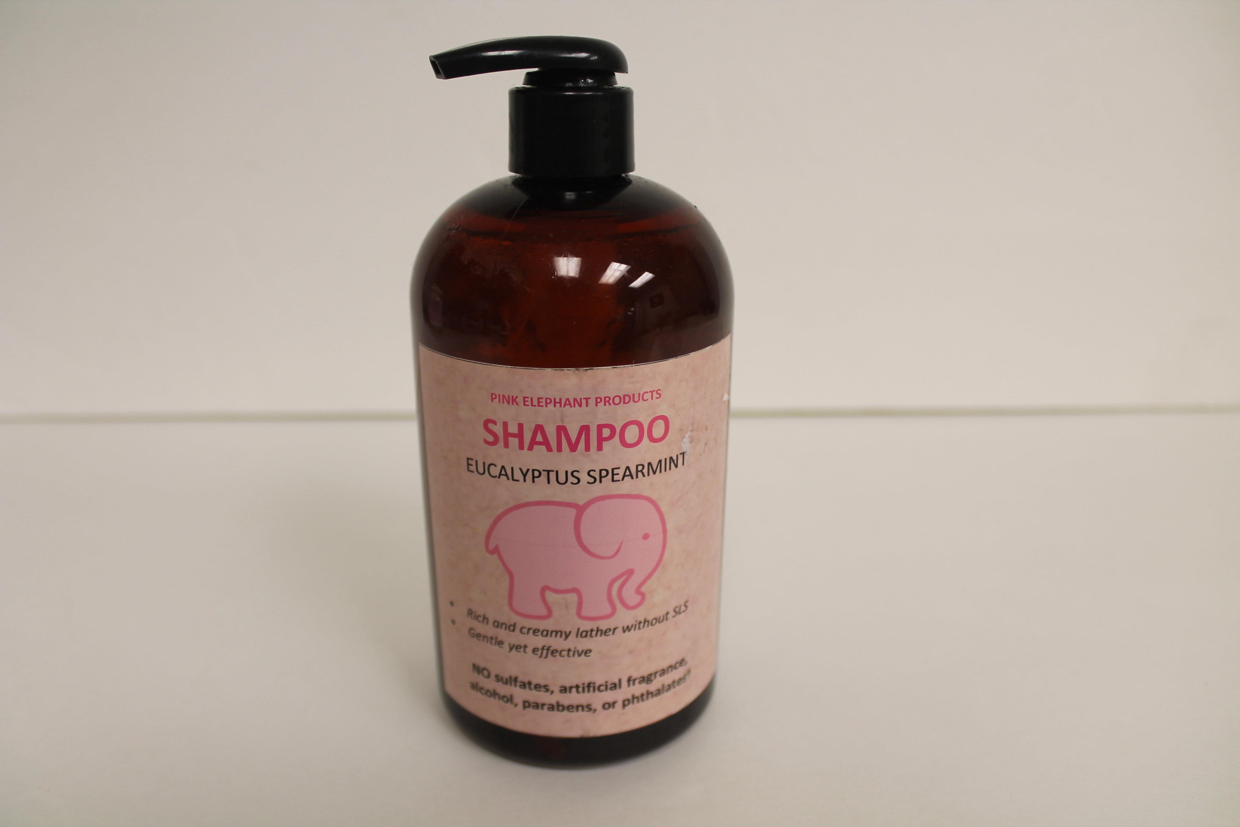 Pink Elephant Eucalyptus Spearmint Shampoo 00204