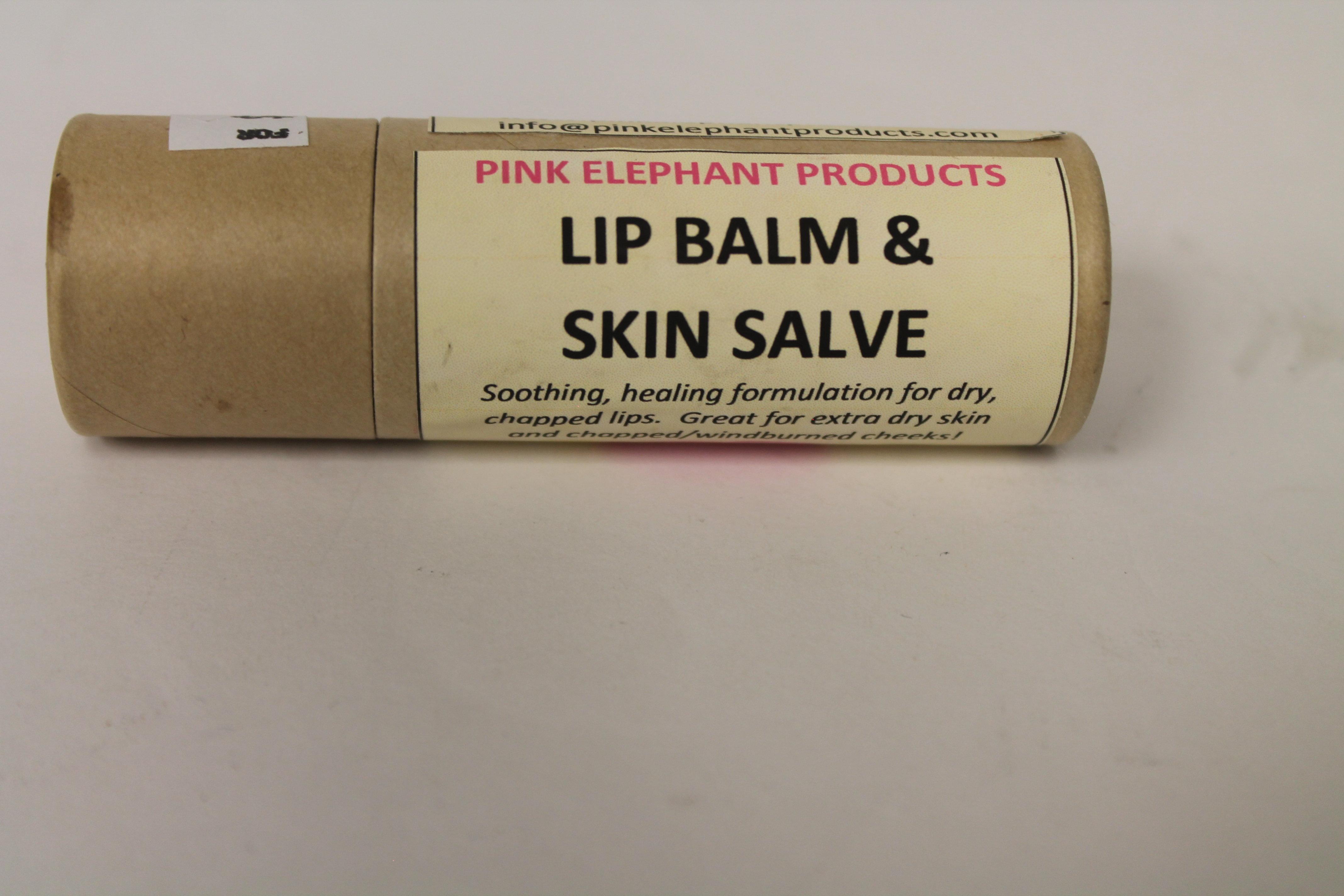 Pink Elephant Lip Balm & Skin Salve 00220