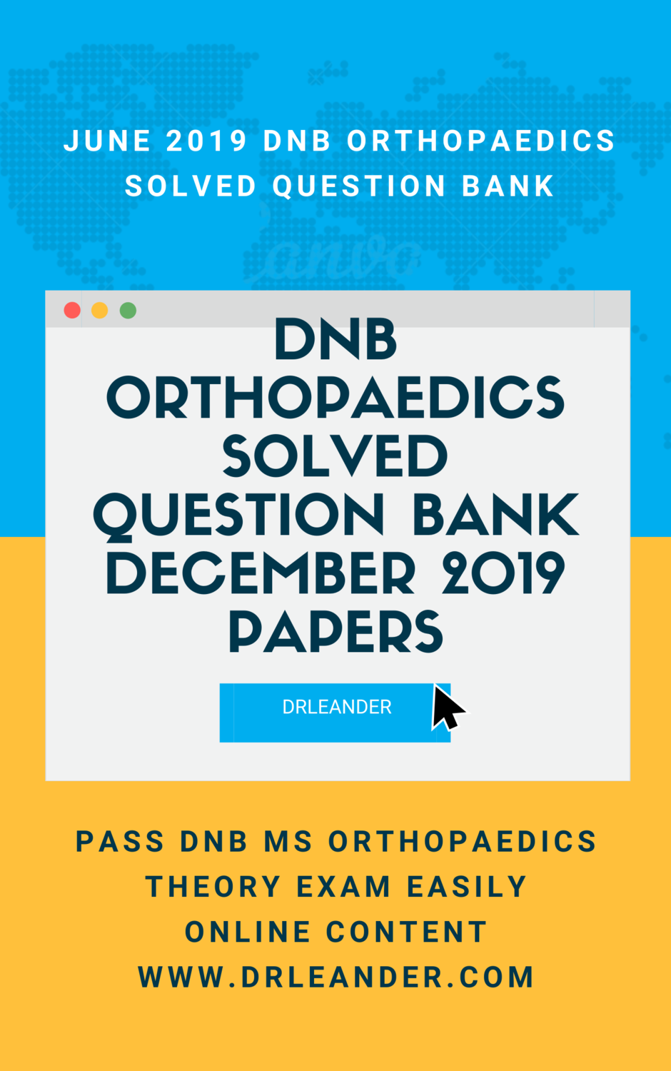 December 2019 DNB Orthopaedic Solved Question Bank Online