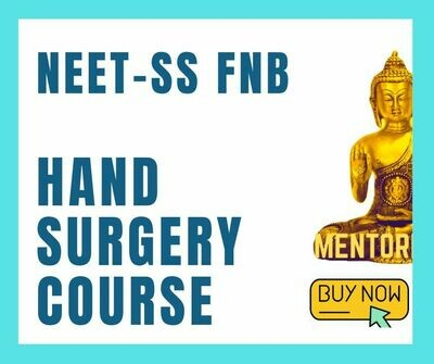 NEET-SS FNB Hand&Micro Surgery mcq question bank mock exam course