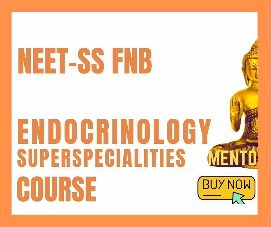 NEET-SS FNB Endocrinology Superspecialities mcq question bank mock exam course