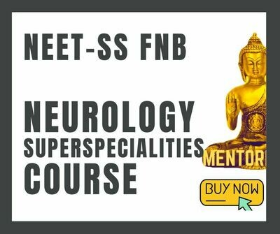 NEET-SS FNB Neurology course mcq question bank mock tests