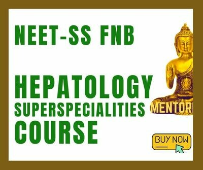 NEET-SS FNB Hepatology mcq question bank mock exam course