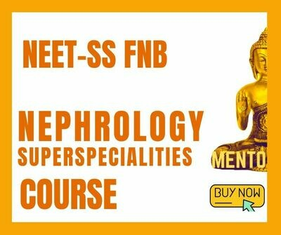 NEET-SS FNB Nephrology mcq question bank mock exam course