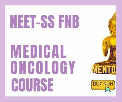 NEET-SS FNB DM Oncology mcq question bank mock exam course