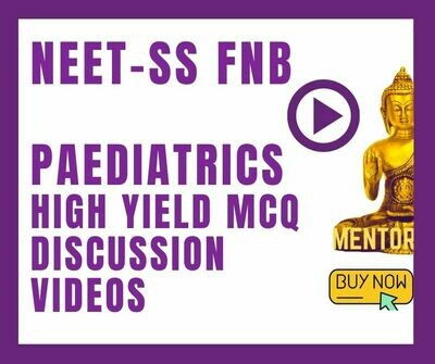 Neet ss Paediatrics high yield mcq discussion videos android app only